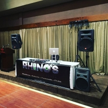 Dj Boss ready to go for a Christmas Party tonight.  #dj #corporateparty #yqrchristmas #rhinosdjs