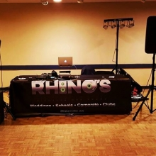 Dj Odin ready for Conexus Arts Center's Small Business Christmas Party. #yqrchristmas #corporateparty #rhinosdjs #dj