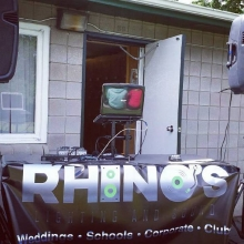 DJ K-Dub at the Regina Lawn Bowling Club #yqrevents #yqrdj #dj #lawnbowling #fundraiser #rhinosdjs
