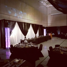 Our setup in #moosomin for a #wedding