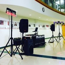 Youth #dance setup at The First Nations University.