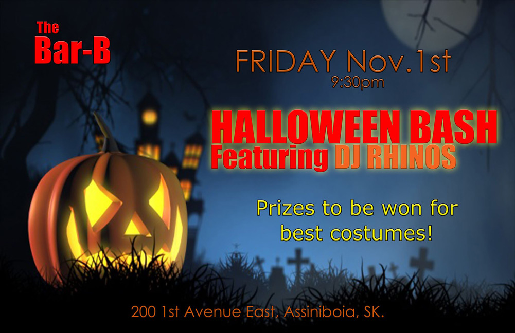 The Bar-B Assiniboia Halloween Bash