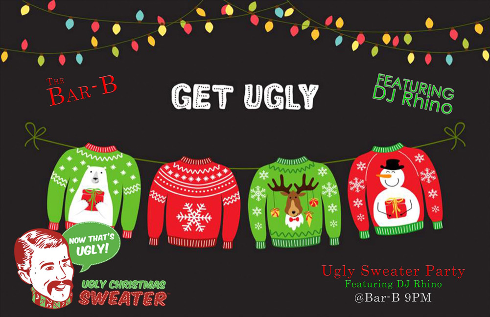 The Bar-B Assiniboia Ugly Christmas Sweater Party