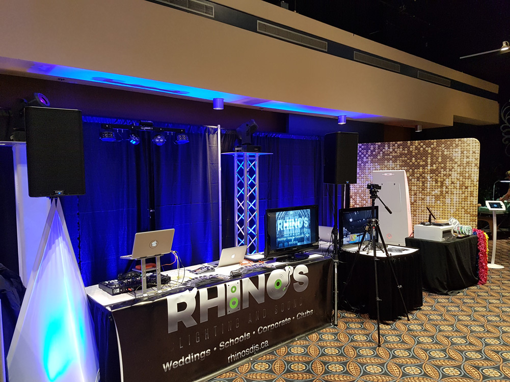 The Most Incredible Bridal Show Feat. Rhino's Lighting & Sound