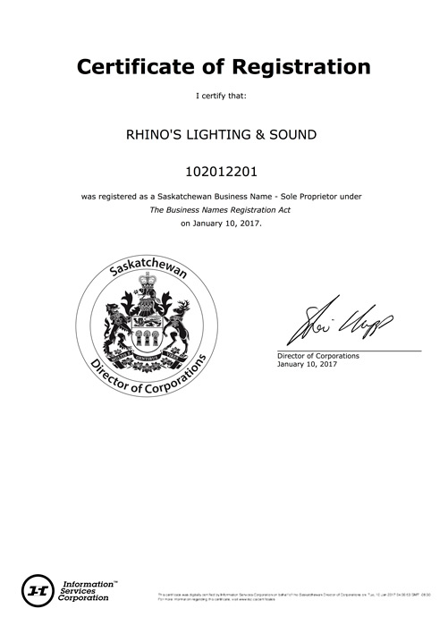Licensed and Registered DJ Photo Booth Audio Video and Media company
