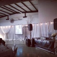 DJ K-Dub and DJ Bara out at Prairie Place in Arcola for a wedding reception.  Congrats!