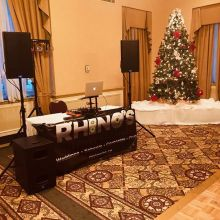 Dumo all set for a company Christmas party in Saskatoon