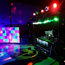 DJ K-Dub and Dumo playing a disco themed high school dance tonight!