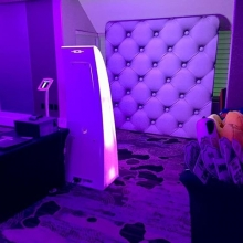 Our photo booth capturing lots of great shots tonight.